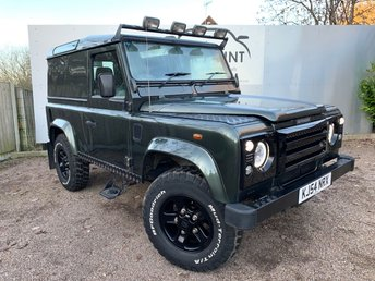 2004 LAND ROVER DEFENDER 2.5 90 TD5 COUNTY HARD TOP 120 BHP £13450.00