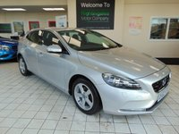 USED 2012 62 VOLVO V40 1.6 D2 SE 5d 115 BHP ANOTHER EXCELLENT VOLVO - THE HIGHLY ECONOMICAL 6 SPEED D2 ENGINED SE MODEL, WITH £ZERO ROAD TAX!