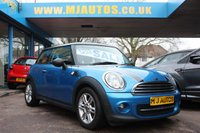 USED 2011 61 MINI HATCH COOPER 1.6 COOPER PIMLICO 3dr 121 BHP 2 OWNERS | LOW MILES | SERVICE HISTORY