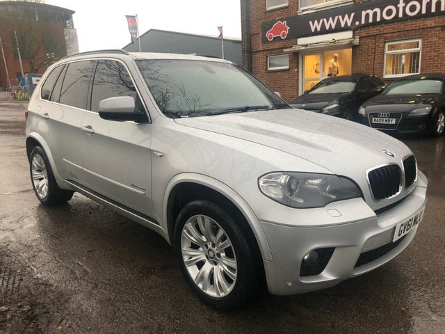 USED 2012 61 BMW X5 3.0 XDRIVE30D M SPORT 5d 241 BHP EXCELLENT EXAMPLE WITH SERVICE HISTORY, ALLOY WHEELS, PARK SENSORS, LEATHER INTERIOR, RADIO/CD/AUX/USB, CRUISE CONTROL, AIR CONDITIONING