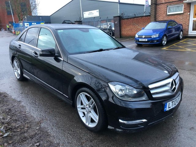USED 2013 13 MERCEDES-BENZ C CLASS 3.0 C350 CDI BLUEEFFICIENCY AMG SPORT 4d 262 BHP EXCELLENT EXAMPLE WITH SERVICE HISTORY, ALLOY WHEELS, PARK SENSORS, LEATHER INTERIOR, RADIO/CD/AUX/USB, CRUISE CONTROL, CLIMATE CONTROL