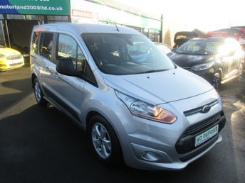 2014 FORD TOURNEO CONNECT 1.6 ZETEC TDCI 5d 94 BHP £8500.00