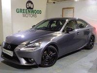 USED 2015 65 LEXUS IS 300 2.5 Sport E-CVT 4dr