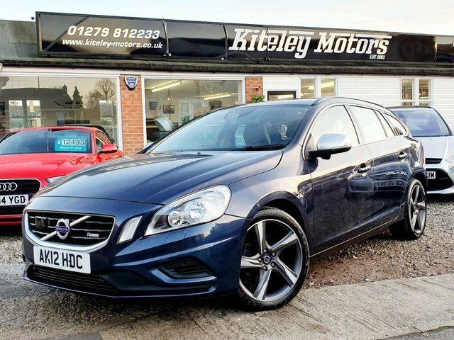 2012 12 VOLVO V60 2.0 D3 R-DESIGN 163BHP HUGE SPECIFICATION