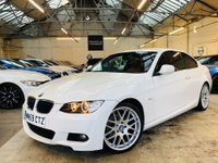 USED 2009 59 BMW 3 SERIES 2.0 320d M Sport Highline 2dr RED LEATHER 19s HTD STS