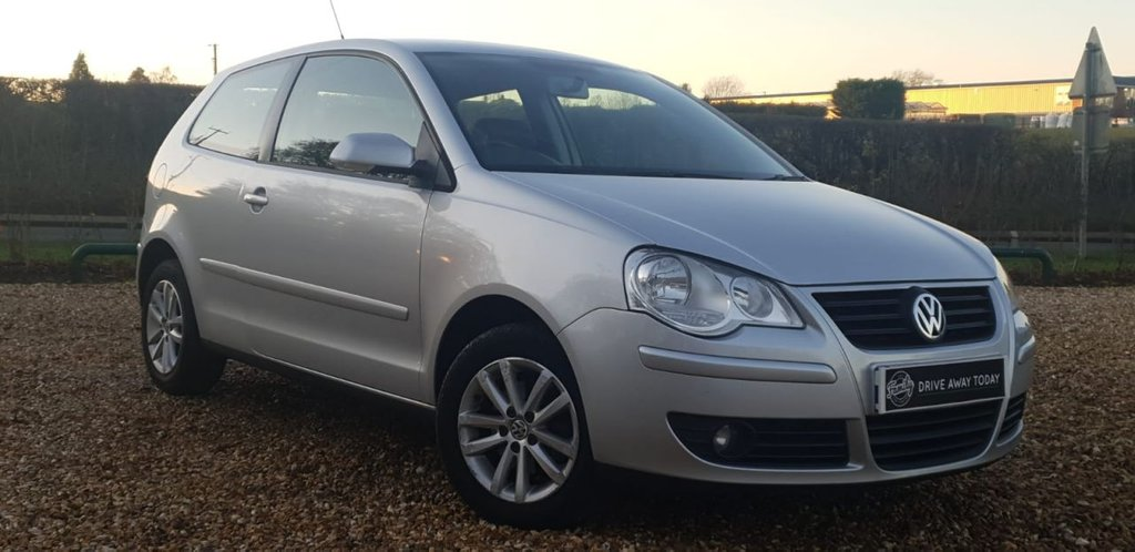 USED 2007 57 VOLKSWAGEN POLO 1.2 S 3d 59 BHP 1 OWNER FROM NEW