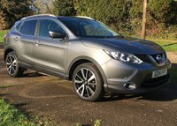 USED 2014 14 NISSAN QASHQAI 1.5 DCI TEKNA 5d 108 BHP 32,000 ZERO ROAD TAX LEATHER SAT NAV