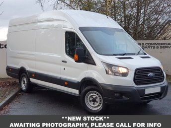 2018 FORD TRANSIT 350 RWD 2.0 130 BHP L3 H3 P/V**OVER 90 VANS IN STOCK** £16650.00