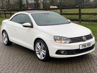 USED 2011 11 VOLKSWAGEN EOS 2.0 SPORT TDI BLUEMOTION TECHNOLOGY DSG 2d 139 BHP