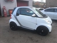 2013 SMART FORTWO 1.0 PURE MHD 2d 61 BHP SOLD