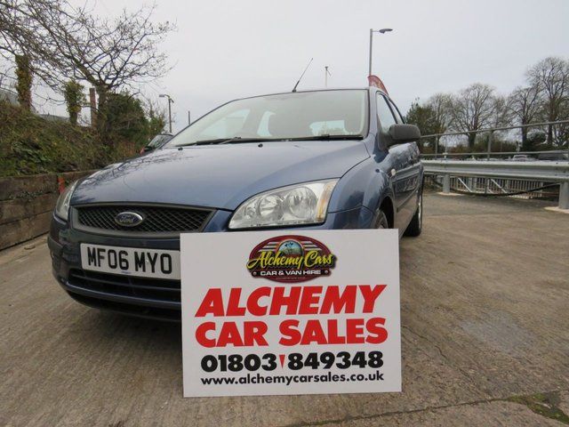 USED 2006 06 FORD FOCUS 1.6 SPORT 5d 100 BHP