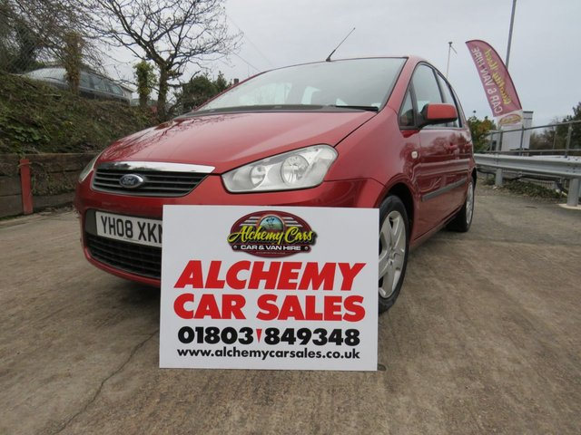 USED 2008 08 FORD C-MAX 1.6 STYLE 5d 100 BHP