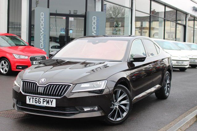 USED 2016 66 SKODA SUPERB 2.0 TDI CR DPF Laurin & Klement (s/s) 5dr