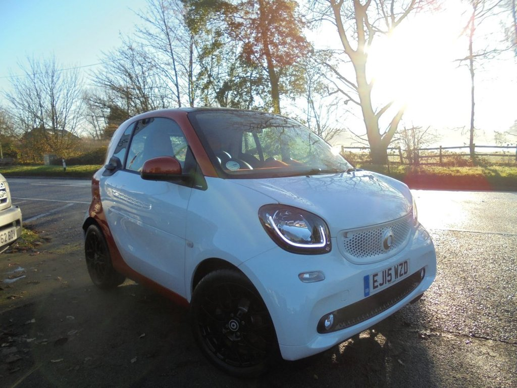 USED 2015 15 SMART FORTWO 0.9 EDITION1 T 2d 90 BHP