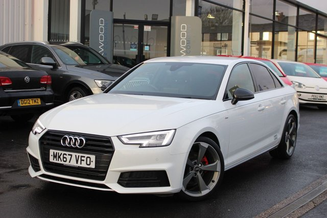 USED 2017 67 AUDI A4 1.4 TFSI Black Edition S Tronic (s/s) 4dr
