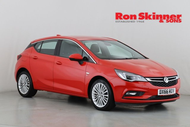 View our 2016 66 VAUXHALL ASTRA 1.6 ELITE NAV CDTI S/S 5d 134 BHP