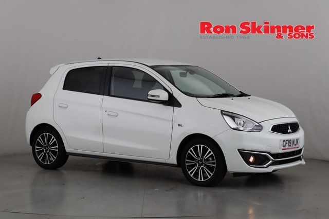 View our 2019 19 MITSUBISHI MIRAGE 1.2 4 5d AUTO 79 BHP