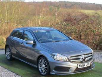 2014 MERCEDES-BENZ A CLASS 1.5 A180 CDI BLUEEFFICIENCY AMG SPORT 5d 109 BHP £10990.00