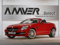 USED 2012 12 MERCEDES-BENZ SLK 2.1 SLK250 CDI BLUEEFFICIENCY 2d 204 BHP