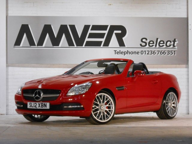 2012 12 MERCEDES-BENZ SLK 2.1 SLK250 CDI BLUEEFFICIENCY 2d 204 BHP