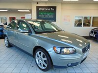 USED 2006 55 VOLVO S40 2.0 SE D 4d 135 BHP VOLVO DEALER'S OWN CAR AND THEN ONE PRIVATE OWNER FROM 9 MONTHS OLD. FULL DEALER SERVICE HISTORY, ABSOLUTELY IMMACULATE, AND DRIVES MAGNIFICENTLY - IT RETURNED 50MPG ON A BRIEF TRIP WE DID IN THE CAR.