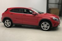 USED 2015 15 MERCEDES-BENZ GLA-CLASS 2.1 GLA220 CDI 4MATIC SPORT PREMIUM 5d 168 BHP NEW FRONT TYRES, STUNNING JUPITER RED PAINT WORK, BLACK ARTICO LEATHER, HEATED SEATS, 18 INCH ALLOYS, PARK ASSIST, REVERSE CAMERA, CRUISE CONTROL, SAT NAV, POWER TAILGATE, LOW MILEAGE, HIGH SPEC, EXECUTIVE 4X4