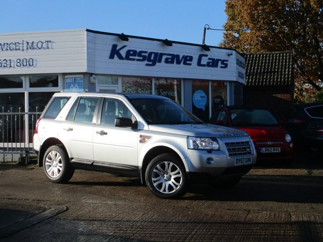 USED 2007 57 LAND ROVER FREELANDER 2.2 TD4 HSE 5d 159 BHP 2 Owner, FSH, Full Leather, Sat Nav, 2 Keys, Just Serviced