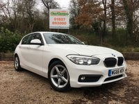 USED 2016 66 BMW 1 SERIES 1.5 116D ED PLUS+ 5dr Sat Nav, Cruise, PDC, 1 Owner