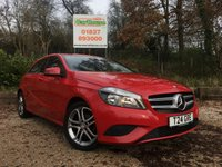 USED 2013 63 MERCEDES-BENZ A CLASS 1.5 A180 CDI BLUEEFFICIENCY SPORT 5dr Half Leather, Mercedes SH