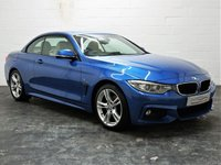 USED 2016 66 BMW 4 SERIES 2.0 420D M SPORT 2d 188 BHP XL PRO SAT NAV + JUST SERVICED + FULL CREAM LEATHER + 1 OWNER