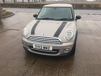 USED 2013 13 MINI HATCH COOPER 1.6 COOPER BAKER STREET 3d 120 BHP