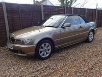 USED 2005 05 BMW 320Ci 2.2 E46 CONVERTIBLE 6 MONTHS WARRANTY, READY TO GO