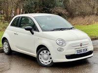 USED 2011 61 FIAT 500 1.2 POP 3d 69 BHP FANTASTIC VALUE FOR MONEY STARTER CAR