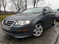 USED 2010 10 VOLKSWAGEN PASSAT 2.0 R LINE TDI 4d 109 BHP FSH 7 STAMPS+2KEYS+17ALLOYS+AIRCON+MEDIA+CLEANCAR+AUX+USB+HPICLEAR+