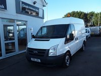 2011 FORD TRANSIT 2.2 280 85 BHP Medium Roof SWB £6495.00