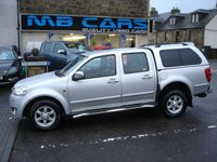 """USED 2013 63 GREAT WALL STEED 2.0 TD SE 4X4 DCB 4d 141 BHP ONLY 58000 MILES,F.S.H""""NO VAT"""""""