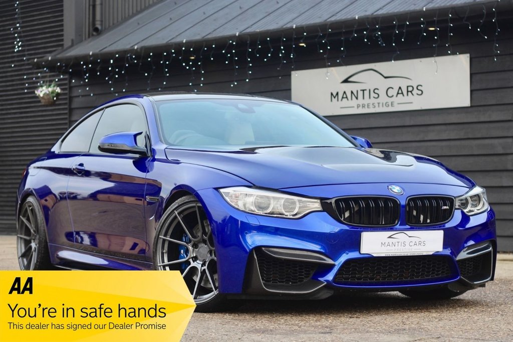 USED 2016 66 BMW M4 3.0 M4 COMPETITION PACKAGE 2d 444 BHP