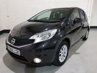 """USED 2016 66 NISSAN NOTE 1.2 ACENTA 5d 80 BHP 1 Owner/ Nissan History£0 Tax/Privacy Glass/15"""" Alloys"""
