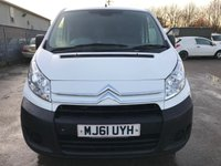 USED 2011 61 CITROEN DISPATCH 1.6 HDI 90PS 1000KG L1H1 ENTERPRISE **NO VAT**