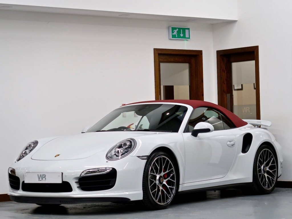 USED 2015 PORSCHE 911 3.8T 991 Turbo PDK 4WD 2dr LOW MILES + F/P/SH + DCC