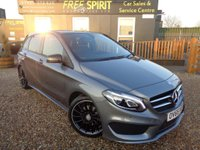USED 2015 65 MERCEDES-BENZ B CLASS 1.6 B180 AMG Line (Premium) 7G-DCT (s/s) 5dr Rear Camera-Nav-Phone-1 Owner