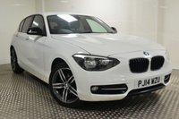 2014 BMW 1 SERIES 1.6 114D SPORT 5d 94 BHP £7695.00