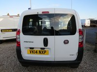 USED 2014 14 FIAT FIORINO 1.2 16V MULTIJET COMBI ADVENTURE 95 BHP ONE OWNER - ONLY 54,000 MILES!