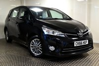 USED 2016 66 TOYOTA VERSO 1.6 D-4D ICON 5d 110 BHP VERSO DIESEL WITH 7 SEATS AND £30 ROAD TAX
