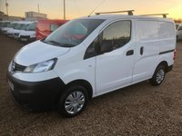 USED 2015 15 NISSAN NV200 1.5 DCI ACENTA 90 BHP 62000 MILES * FULL SERVICE HISTORY * TWIN SIDE DOORS