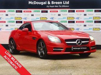 2014 MERCEDES-BENZ SLK 2.1 SLK250 CDI BLUEEFFICIENCY AMG SPORT 2d 204 BHP £12999.00