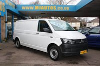 USED 2017 17 VOLKSWAGEN TRANSPORTER T30 LWB 2.0 TDI STARTLINE BMT 101 BHP NEED FINANCE??? APPLY WITH US!!!