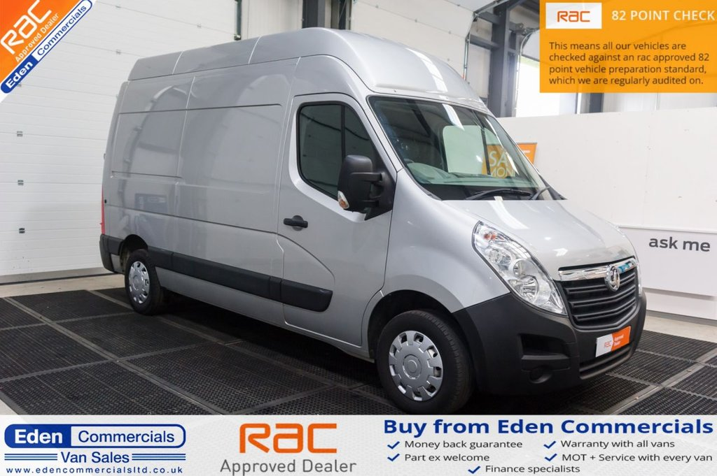 USED 2015 65 VAUXHALL MOVANO 2.3 F3500 L2H3 PCDTI 109 BHP * EXTRA HIGH ROOF *