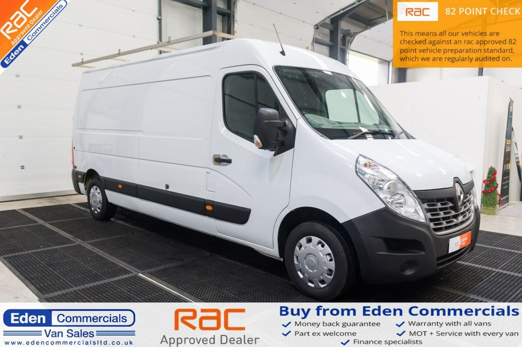 USED 2015 65 RENAULT MASTER 2.3 LM35 BUSINESS DCI S/R P/V 110 BHP
