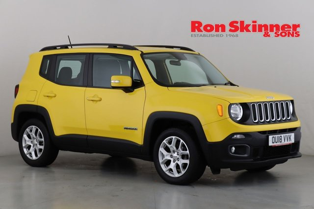 View our 2018 18 JEEP RENEGADE 1.4 LONGITUDE 5d 138 BHP